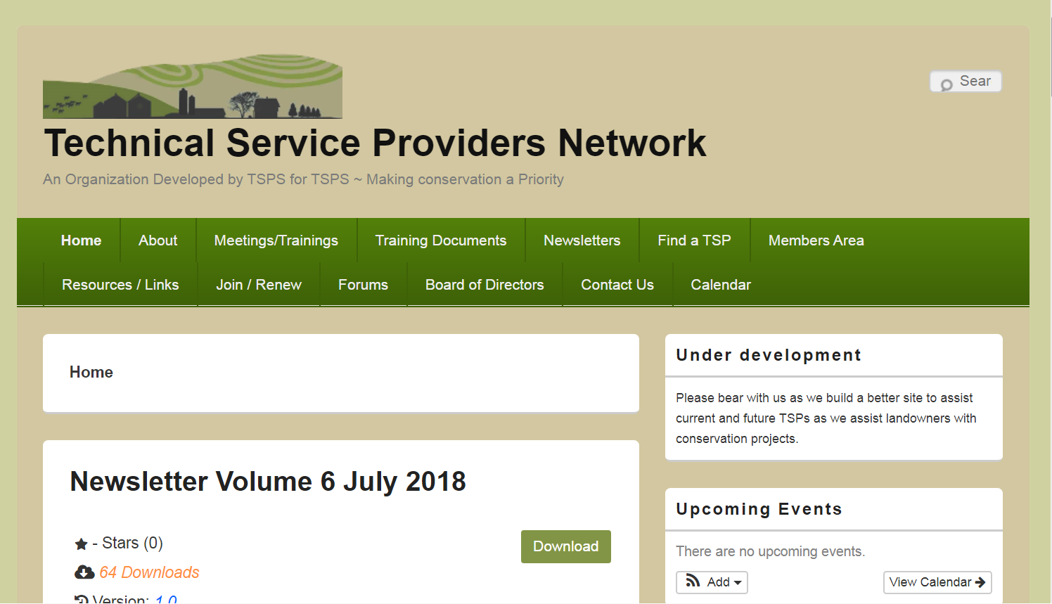 Technical Service Providers Network