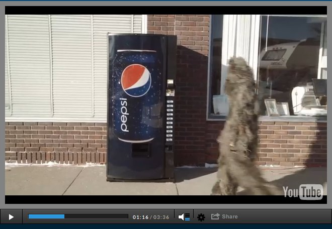 Pepsi Get Hyped for Half-time 2014